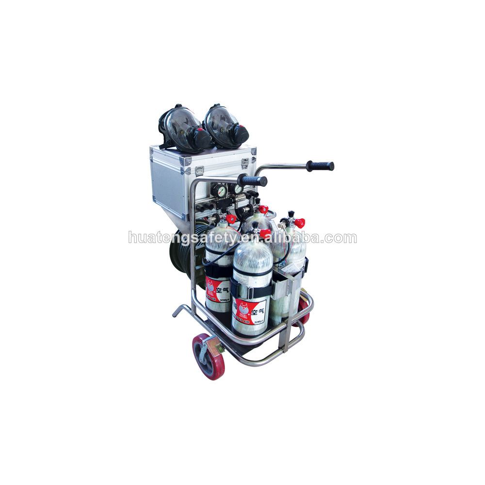 Mobile Air Gas Supply Source/Vehicular Long Tube Air Respirator