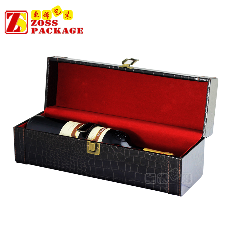 one bottle luxury hot sale classics wooden custom single wine box