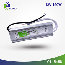 150w 12v dc power supply ip67 waterproof led driver for led strip light led module light