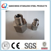 stainless steel straight nipple for oil