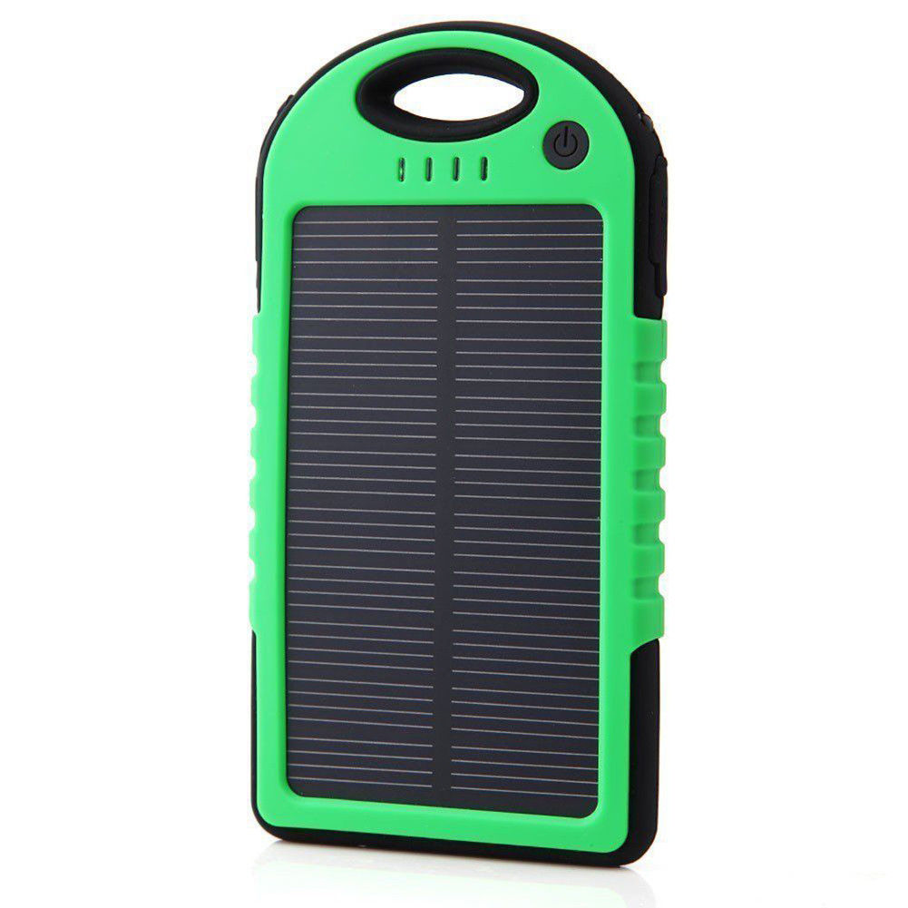 10000mAh mobile phone battery power best portable solar device charger with SOS Led