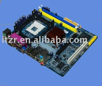 ESONIC ZILLION Motherboard G41FBCL , G41-478 Support LGA775 cooler,3 phase design