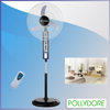 "20"" industrial fan,solar fan,stand oscillating rechargeable fan with LED light"