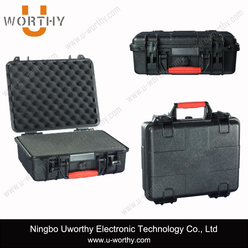 plastic equipment case for gun pistol