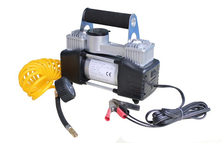 12v Digital Air Compressor Car Van Bike Tyre Pump Inflator - AP Automotive