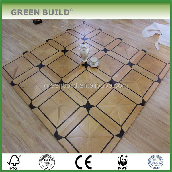 Mortise and Tenon structure versailles parquet art parquet wood flooring