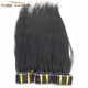Aisi Hair 2018 New Arrival Unprocessed Double Drawn Cuticle Aligned Remy Brazilian Hair 6D Pre Bonded Human Hair Extensions