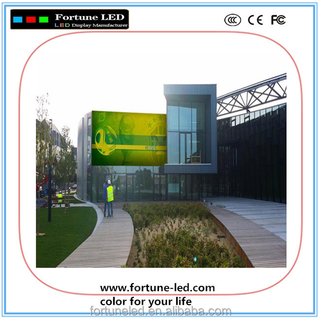 ShenZhen 10mm Pixel Pitch LED Advertising Digital Display Board Dot Matrix 32x16 P10 Full Color SMD Outdoor LED Module