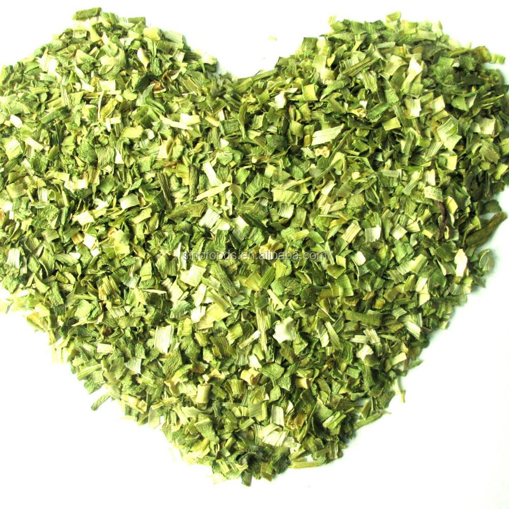 Air Dried Leek Flakes White And Green Bulk Dried Vegetables