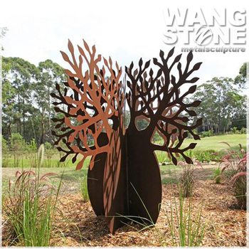 Exceptionnel Corten Steel Abstract Modern Garden Art Metal Sculptures