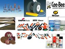 Lubricants, Masking Tape, Compressor Oil, Grease, 3M, Anderol, Royco, Cooper Tools, Mcgean, Safety Walks, Tigerchocks