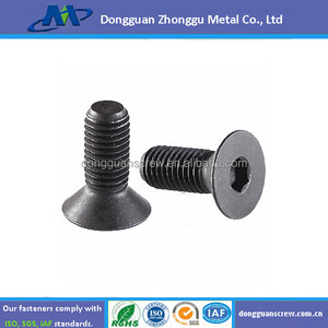 DIN 7991-1986 Hexagon socket countersunk head cap screws/Binnenzeskant verzonkenkopschroef DIN 7991 M6