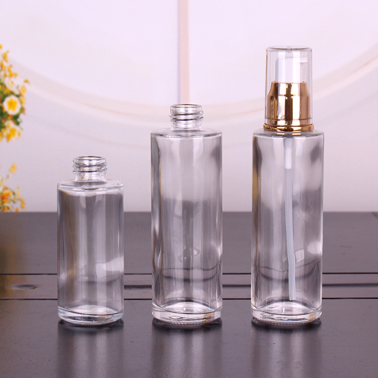 60ml empty glass sprayer perfume bottle