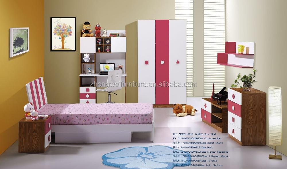 Moderne rode slaapkamer nachtkastje met 2 laden buy product on - Meubilair tv rode ...