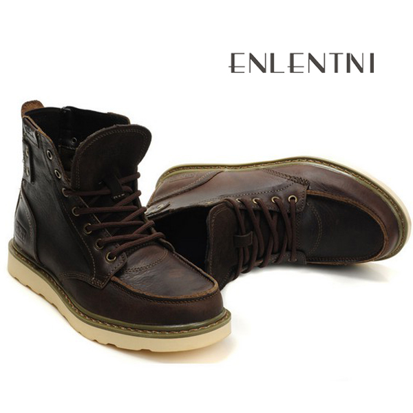 High cool boots import fashion China thick leather top mens sole shoes from TrTOxqH
