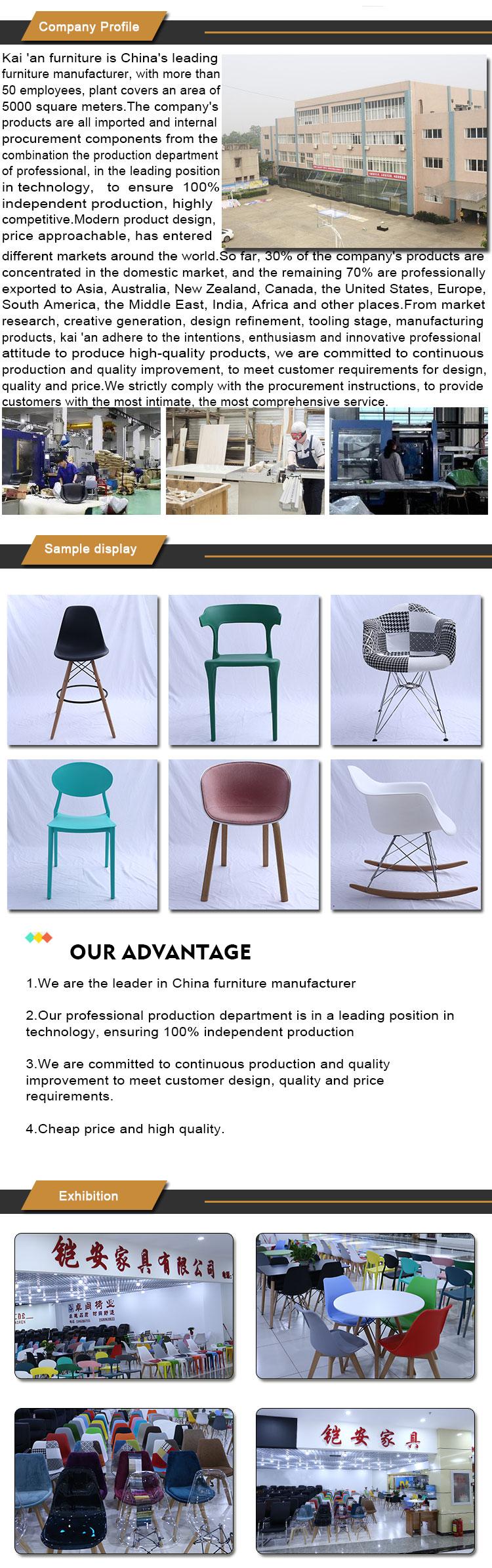 designer scandinavian dining chair grey knocker oak legs living room furniture polypropylene modern chairs