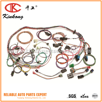 custom fuel injection gm cfitbi engine swap universal wiring harness