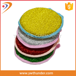 2016 New Style Hot Sale Cleaning Round Colorful Natural Cleaning Dish Sponge