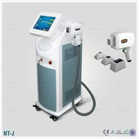 dark and brown skin 808 diode laser CE for permanent hair removal