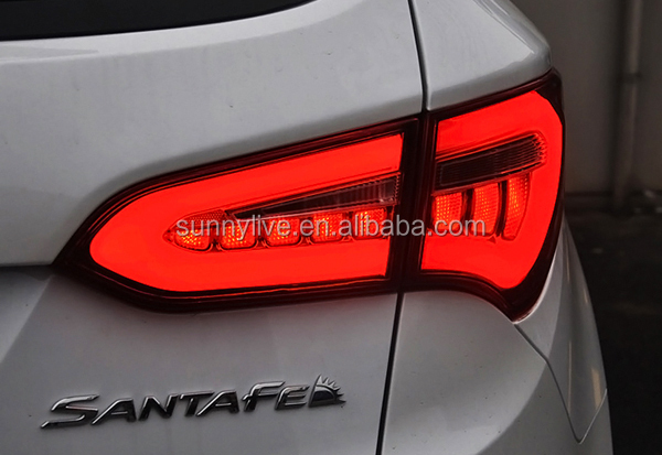 2013 2014 year for hyundai new santa fe ix45 led strip tail light 2013 2014 year for hyundai new santa fe ix45 led strip tail light smoke black aloadofball Image collections
