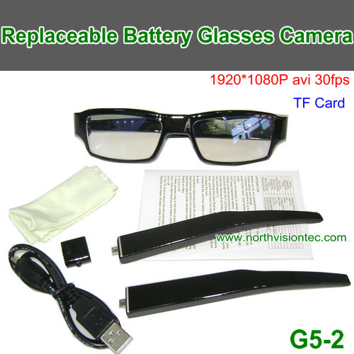 wireless action video camera eye glasses sunglasses camera