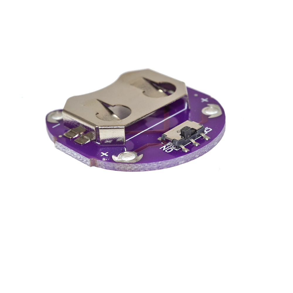 Sostenedor de la Moneda Batería Celular CR2032 módulo de montaje de la batería para los proyectos e-textil