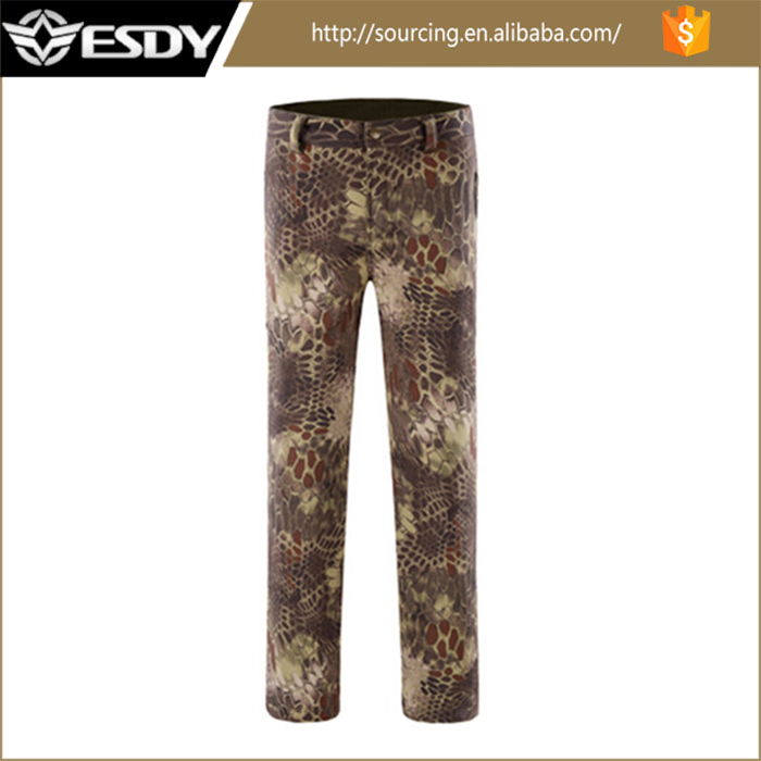 Phthon Camo Tactical Waterproof Quick Drying Pants