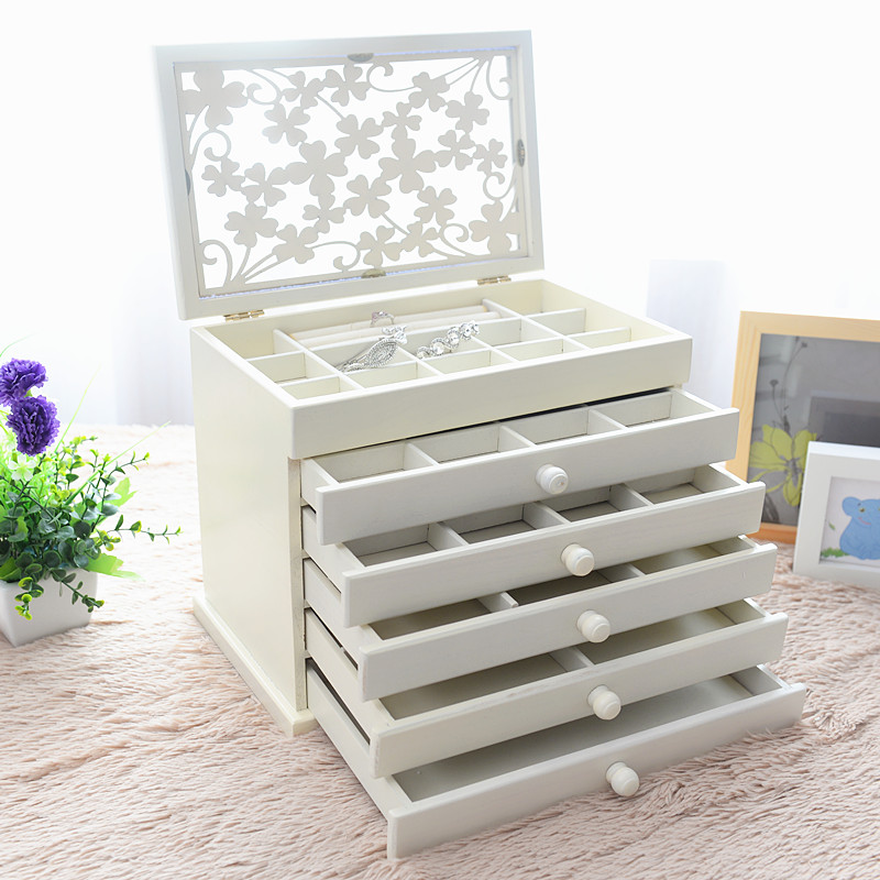 Mother's Day Gift Wood Gift Box Wooden Brand New Storage Box Jewelery Box