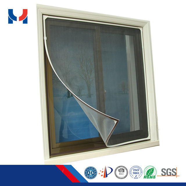 Window With Grill Design Magnetic Mosquito Net