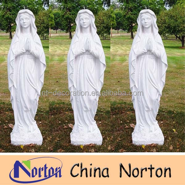 Virgin Mary Garden Statues Painted,Marble Virgin Mary Ntms0242r   Buy Virgin  Mary Garden Statues Painted,Large Garden Statues,Marble Virgin Mary Product  On ...