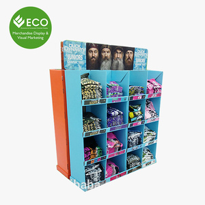 Clothing Shops Display Stands Pallet Display Rack For T Shirt Promotion