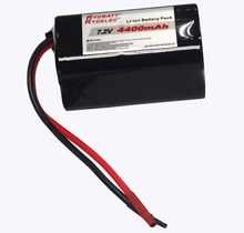 Rechargeable lithium ion battery 7.2v 2600Mah RC toys RC cars, UAV battery pack 7.2V Batteries