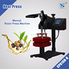 "New Type 5"" x 5"" rosin heat press dual element heating Machine"