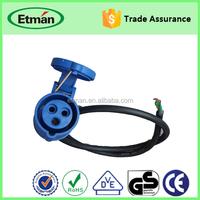 NEMA Plug Y Type Splitter 6 outlets Power Extension Cable
