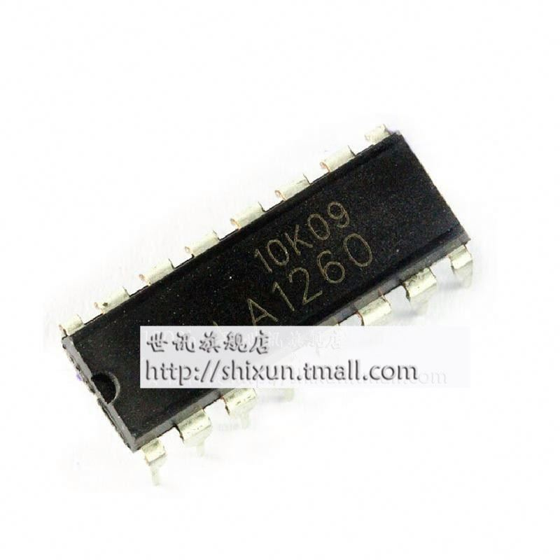 LA1260 DIP16 radio frequency signal amplifying circuit--SXQ3 IC part