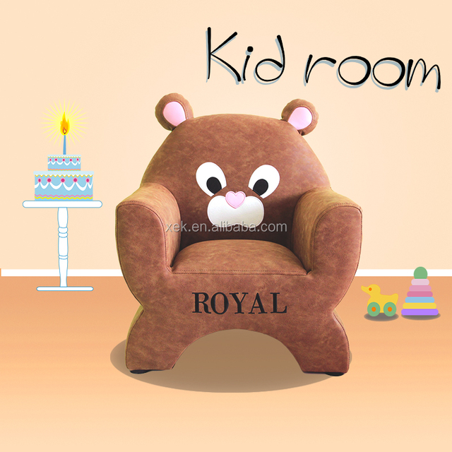 2017 Animal Bear Shape Kids Sofa Furniture
