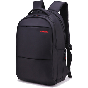 ca3cd59372e0 Tigernu Factory Leisure 2018 New Black Nylon Men Backpack big backpack Anti  theft Backpack laptop bags for 15.6inch