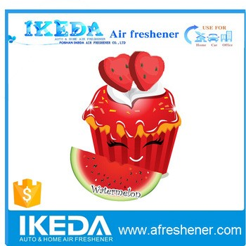 New Watermelon Shape paper air freshener By Air Freshener machine