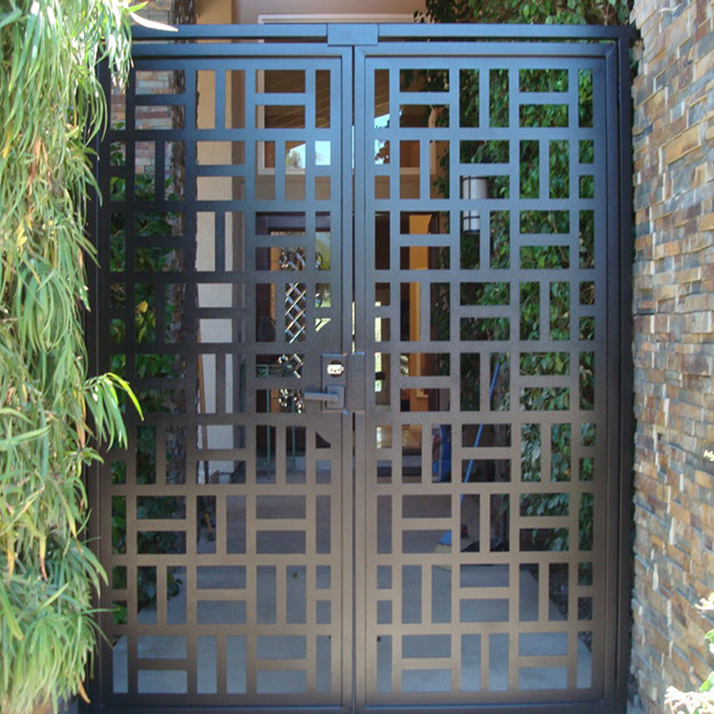 China Supplier Steel Fence Garden Gates Grill Design For