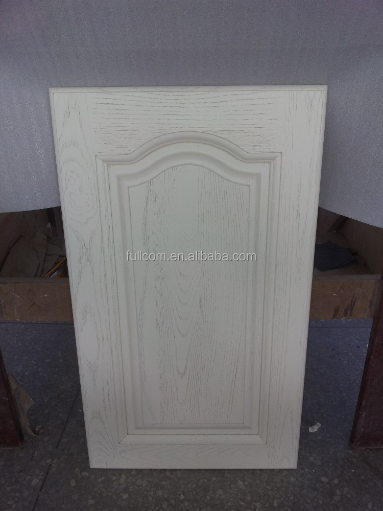 Frêne blanc armoires de cuisine porte en bois-Armoire de cuisine-ID ...