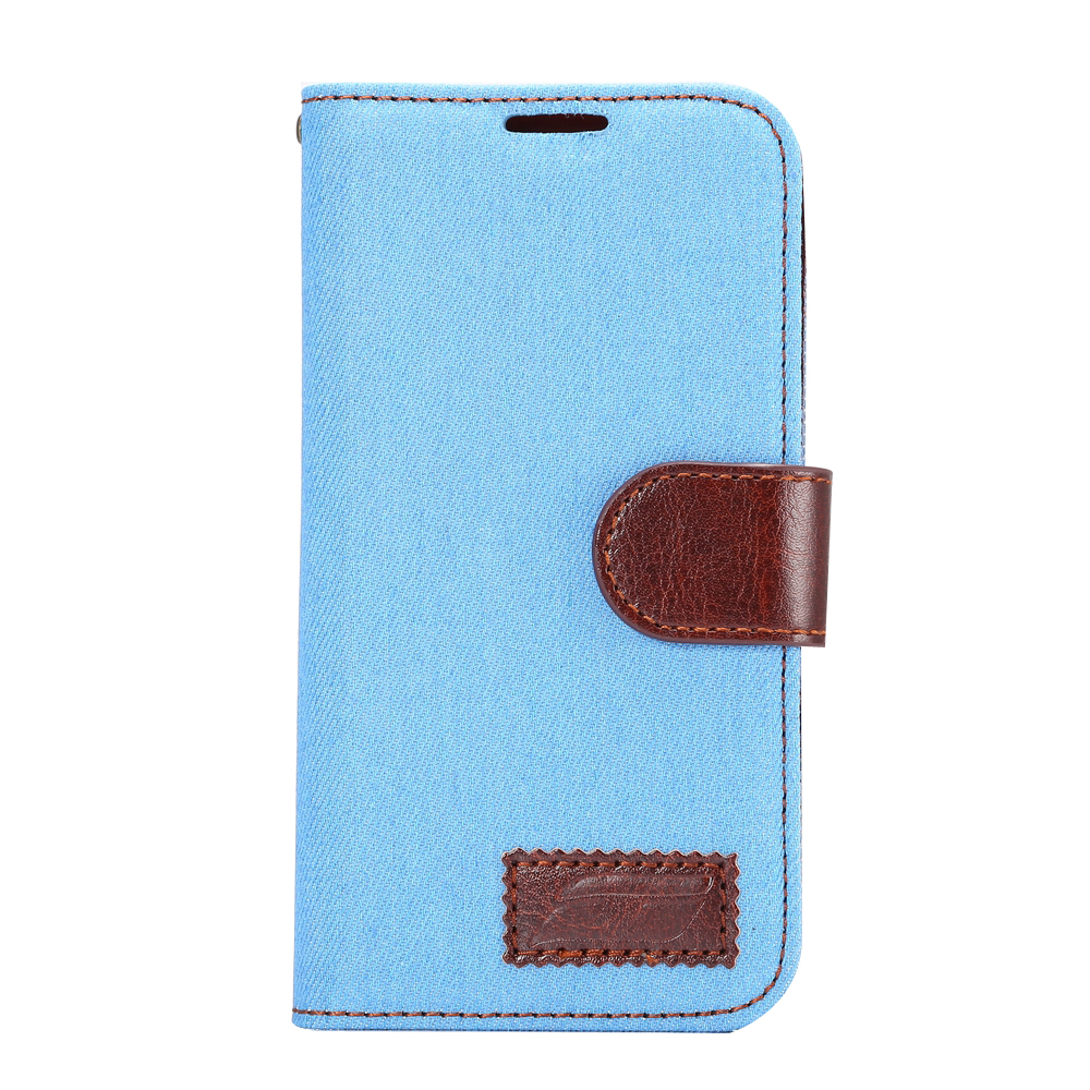 1c661957e34 Luxury Denim Pattern Magnetic TPU Leather Case For Samsung Galaxy E5 Flip  Stand Funda Cover With