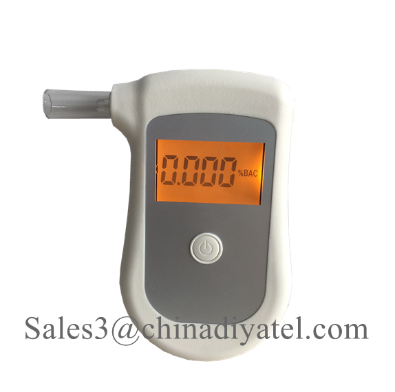 Care for Drive Safety Pocket Digital Alcohol Breath Tester Analyzer