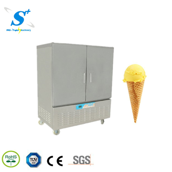 air cooling Commercial Food ice cream blast freezer machine