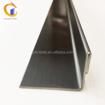 304 Stainless Steel Ceramic Tile Trim Corner Edge With Customized Size