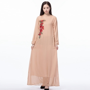 991ce63d14 Top Selling Double-Layered Fancy Abaya Embroidery Designs Women Kaftan
