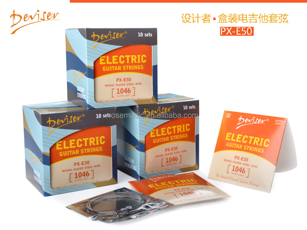 china cheap electric guitar string for sale