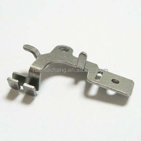 Precision Sheet Metal Stamping Part angle iron bracket