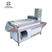 Industrial Automatic Boiled Egg Peeler Peeling Processing Machine
