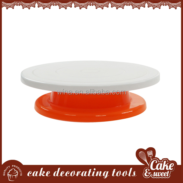 Hot sale news plastic cake decorating turntable