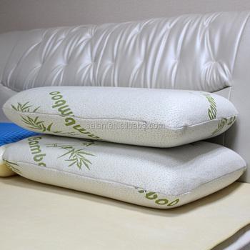 oreiller aloe vera Free Sample Private Label Soft Mould Memory Foam Bamboo Pillow  oreiller aloe vera
